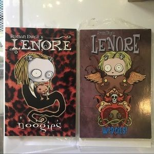 Lenore graphic novels goth comics noogies wedgies